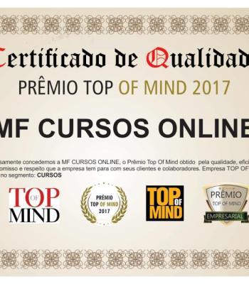 Vencedor na categoria CURSOS EAD